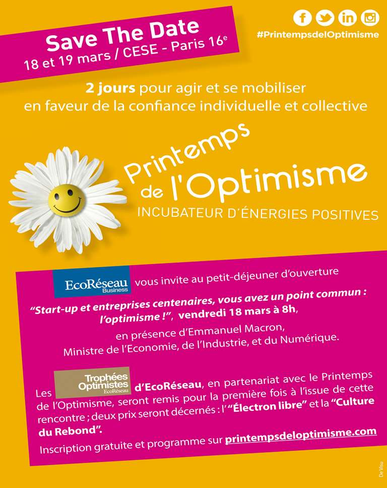 Invitation Trophées Optimistes EcoRéseau
