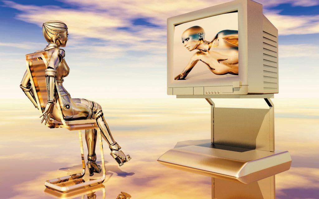« Je suis tombé sur le seul robot paresseux qui regarde la télé toute la journée… »