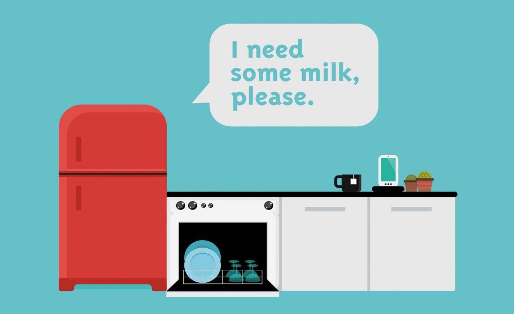Le bas débit utile un jour pour que le frigo refasse seul le plein de lait?