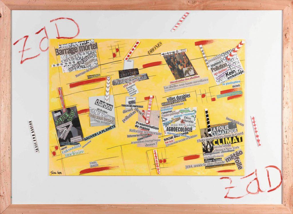 Développement Durable, Zad, 2014, Jane Bee