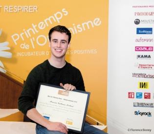 Prix de l'Electron Libre 2016 : Guillaume Rolland, l'inventeur devenu entrepreneur