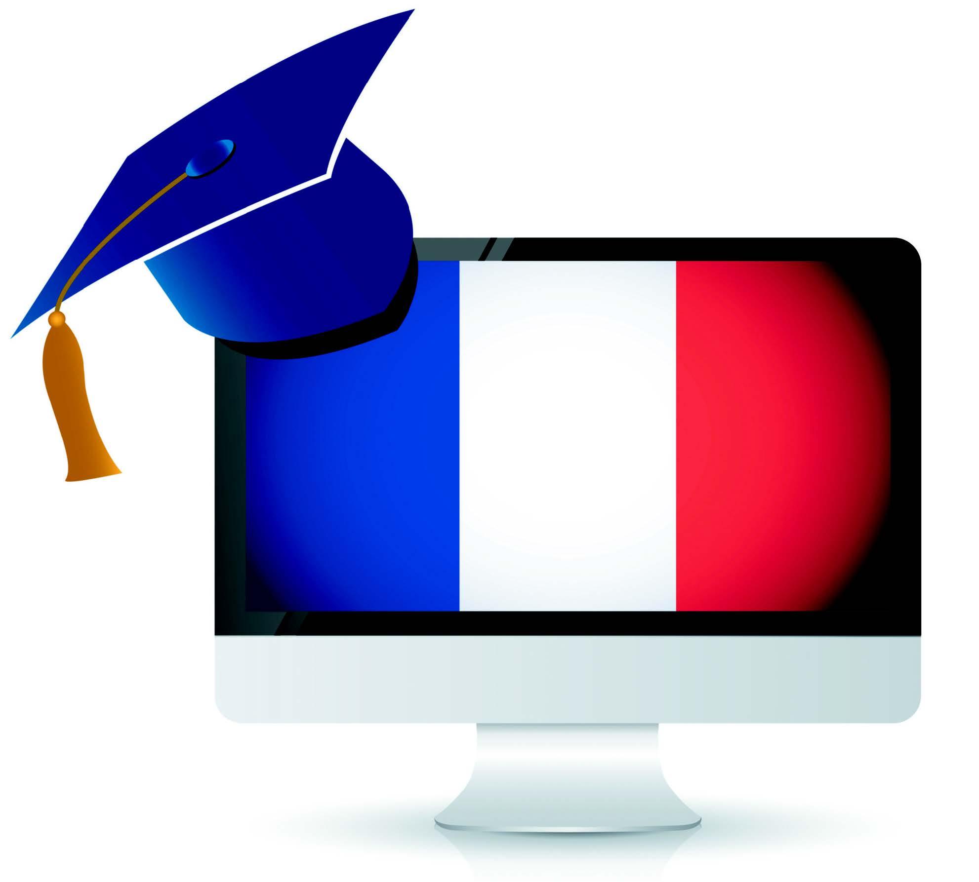 Depuis qu'il a obtenu son MBA français, Tom a discrètement redécoré son poste de travail...