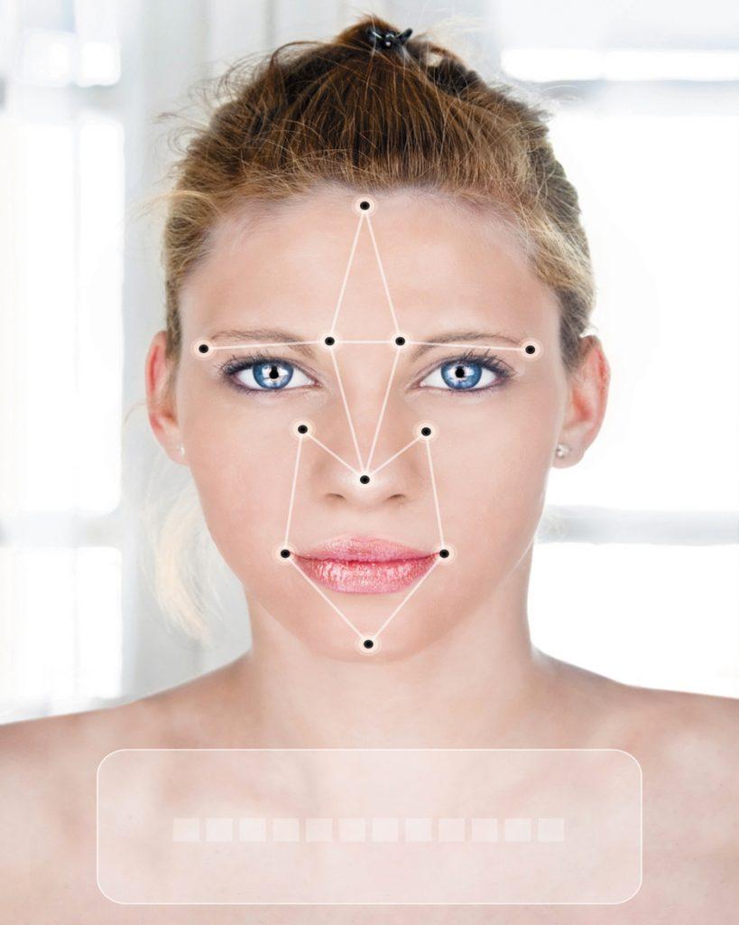 « Ah zut… A cause de mon acné la machine ne me reconnaît pas »