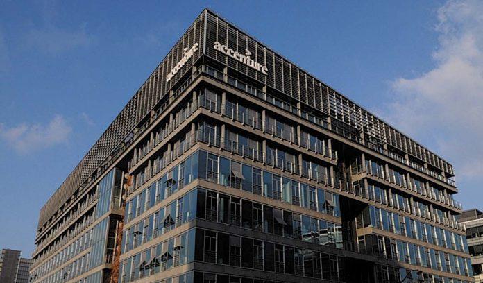 L'immeuble Accenture dans le XIIIème arrondissement