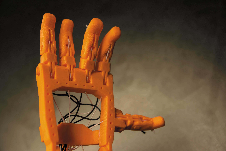 Un exemple de frugalité, la prothèse de main en impression 3D