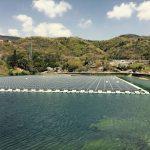 Besso-ike, centrale solaire flottante de 1 426 kWc près de Tokyo