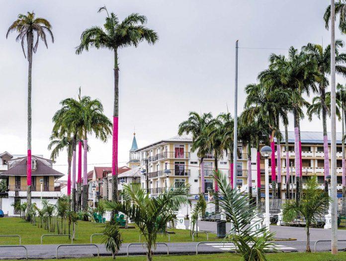 Le centre de Cayenne. Une place où faire encore de bonnes affaires selon les spécialistes.